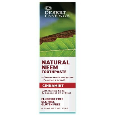 Desert Essence Natural Neem Toothpaste