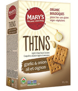 Mary's Organic Garlic and Onion Cracker Thin's