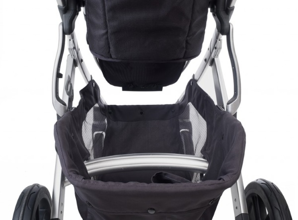 Buy UPPAbaby Vista Stroller Georgie Marine Blue & Carbon ...
