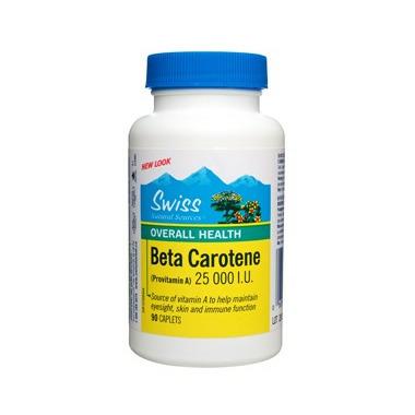 Swiss Natural Sources Beta Carotene (Provitamin A)