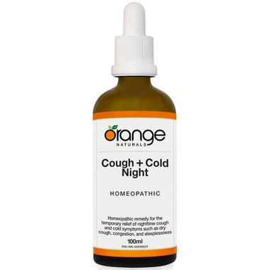 Orange Naturals Cough + Cold Night