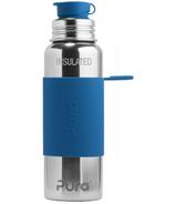 Pura Sport Insulated Water Bottle Steel Blue