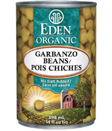 Eden Organic Canned Garbanzo Beans