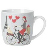 Now Designs Tour de Paris Porcelain Mug