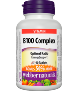 Webber Naturals B100 Complex