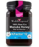 Wedderspoon 100% Raw Premium Manuka Honey KFactor 12