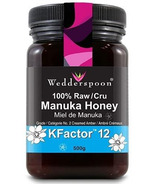 Wedderspoon Organic 100% Raw Premium Manuka Honey KFactor 12