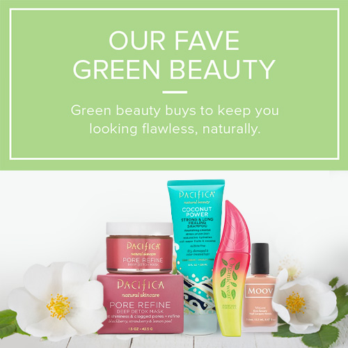 Our Fave Green Beauty
