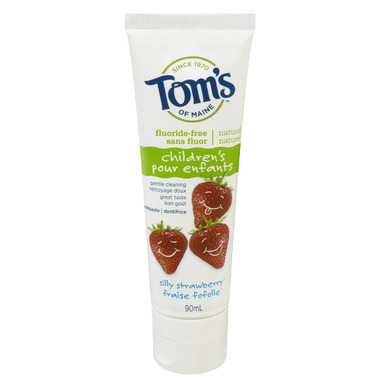 Tom\'s of Maine Children\'s Fluoride-Free Toothpaste
