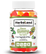 Herbaland Classic Gummy for Kids Fruit, Veg & Fiber