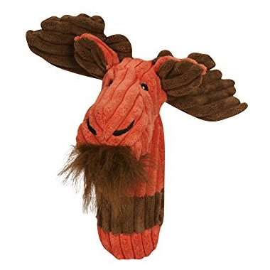 Hugglehounds Endless Squeak Large Moose Dog Toy