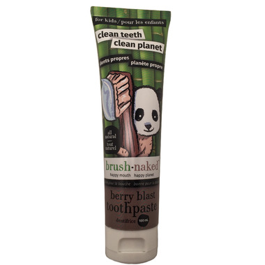 Brush Naked All-Natural Brush Naked Toothpaste Berry Blast
