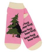 Little Blue House Women's Ankle Socks Bear Hug