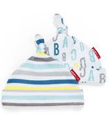 Skip Hop ABC-123 Baby Hats 2 Piece Set Blue