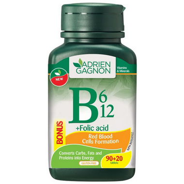 Adrien Gagnon B6, B12 + Folic Acid