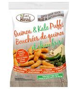 Eat Real Quinoa & Kale Puffs Jalapeno Cheddar Flavour