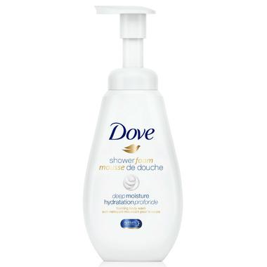 Dove Shower Foam Deep Moisture Foaming Body Wash