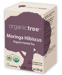 OrganicTree Organic Moringa Hibiscus Tea