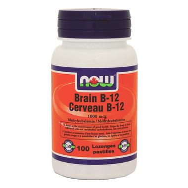 NOW Foods Brain B-12 Lozenges