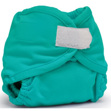 Kanga Care Rumparooz Newborn Diaper Cover Aplix Closure Peacock