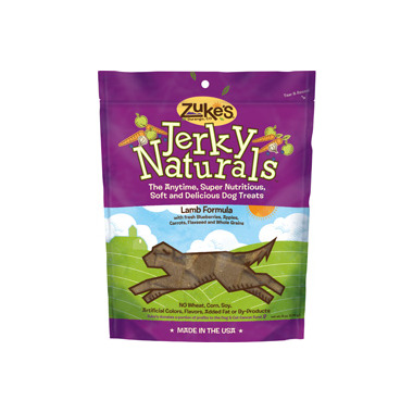 Zuke\'s Dog Jerky Naturals Lamb Formula