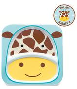 Skip Hop Zoo Tableware Melamine Plate Giraffe