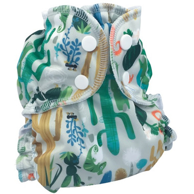 AppleCheeks Swim Diaper Iguana Dance
