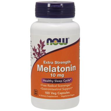 NOW Foods Melatonin Extra Strength