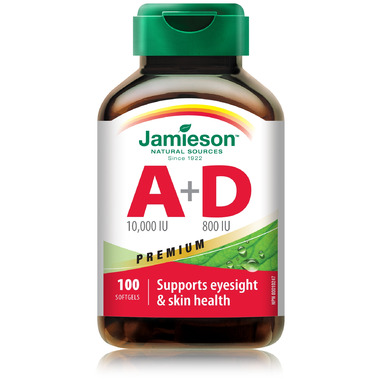 Jamieson Vitamin A & D Fortified