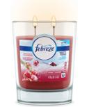 Febreze Candle Air Freshener Fresh-Twist Cranberry