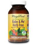 MegaFood Baby & Me Herb Free Multi-Vitamin