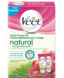 Veet Natural Inspirations Facial Cream Kit for Sensitive Skin