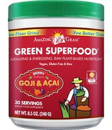 Amazing Grass Green SuperFood Berry Infusion Goji & Acai