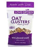 Love Grown Foods Raisin Almond Crunch Oat Clusters