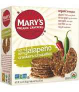 Mary's Organic Crackers Jalapeno Crackers