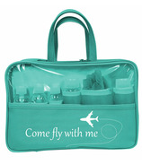 Danielle Creations Statement Travel Set 7 Piece Teal