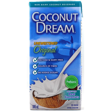 COCONUT DREAM Unsweetened Coconut Beverage