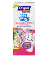Orajel Toddler My Way! Flouride-Free Toothpaste