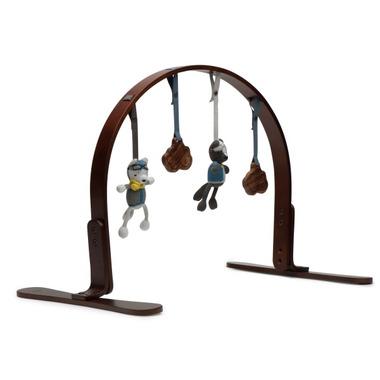 Finn & Emma Natural Dark Wood Playgym Viking