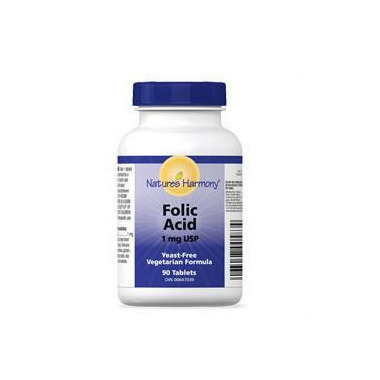 Nature\'s Harmony Folic Acid