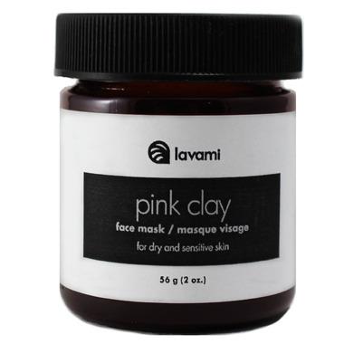 Lavami Pink Clay Face Mask