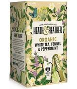Heath & Heather Organic White Tea, Fennel & Peppermint