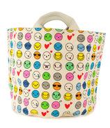 Fluf Emoji Tote & Bin