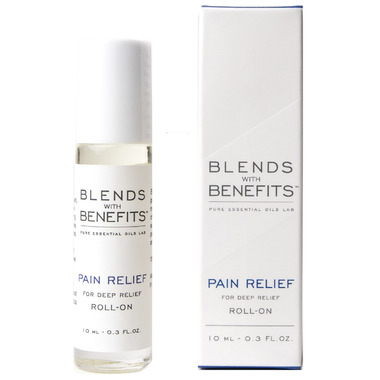 Blends With Benefits Pain Relief Essential Oil Roll On