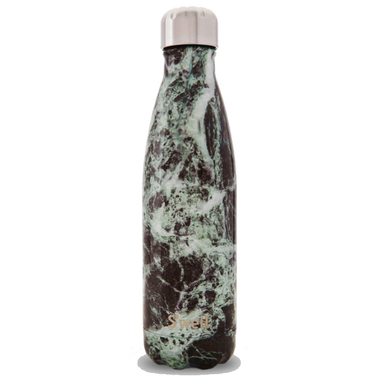 S\'well Elements Collection Stainless Steel Water Bottle Baltic Green Marble