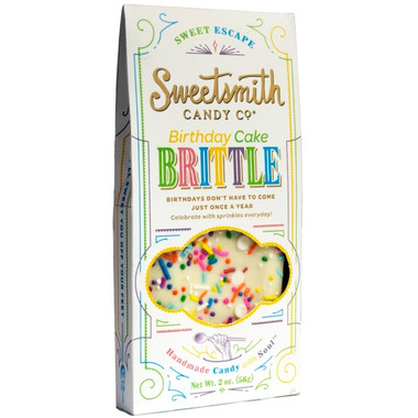 Sweetsmith Candy Co. Birthday Cake Brittle
