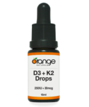 Orange Naturals D3 + K2 Drops