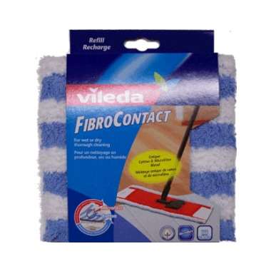 Vileda Fibro Contact Flat Mop Refill