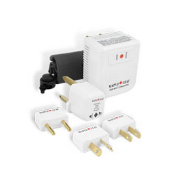 Maple Leaf Travel Converter Adapter Kit