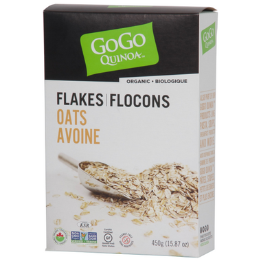 GoGo Quinoa Organic Instant Pure Oats Flakes